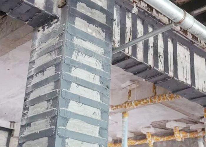 柱子粘钢加固